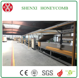 HF(c)-1600 Honeycomb Paperboard Lamination Machine