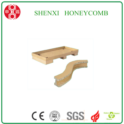 Paper Honeycomb Pallets for Starch Glue Loading
