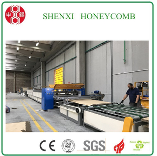 Honeycomb Paperboard Lamination Machine