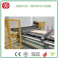 Corrugate Honeycomb Panel Laminating Machine