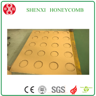 Honeycomb paperboard die cutting machine