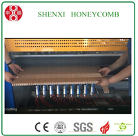 Cookies-cutting honeycomb slitting machine